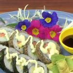 Dill Salmon Sushi