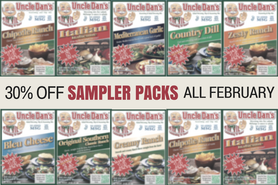 Find A New Favorite This February: 30% Off Sampler Packs